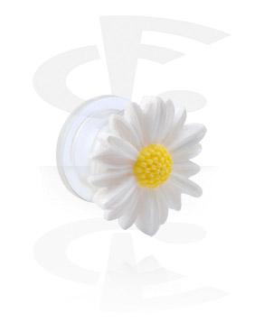 Tunnelit & plugit, Tunnel kanssa flower attachment, Acrylic