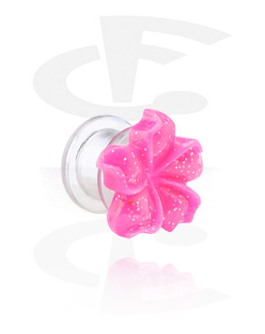 Tunnelit & plugit, Flower-tunneli, Acryl