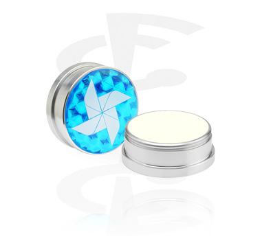 Pflegecreme und Deodorant für Piercings