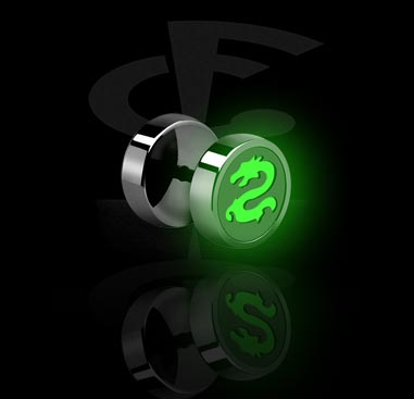 Glow in the Dark Fake Plug