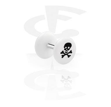 Falešné piercingové šperky, Fake Plug, Acrylic