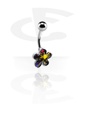 Curved Barbells, Fashion Banana with different Patterns, Surgical Steel 316L