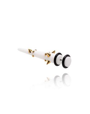 Imitacja biżuterii do piercingu, Fake Expander, Acrylic