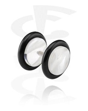 Lažni piercing nakit, UV Acryl Fake Plug, Acrylic