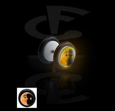 """Fake Plug """"Glow in the Dark"""""""