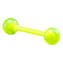 "Barbells, ""Glow in the Dark""-Barbell, Akryl"