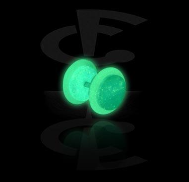 """Glow in the Dark""-Fejkplugg"