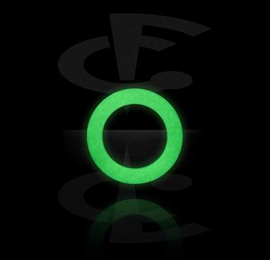 """Кольцо Glow-in-the-Dark в форме """"О"""""""