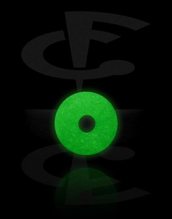 "Kulor, stavar & mer, ""Glow in the Dark"" O-ring, Silikon"