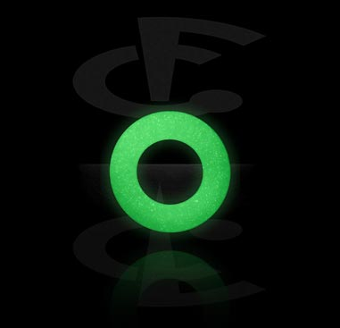Balls & Replacement Ends, Glow-in-the-Dark O-Ring, Silicone
