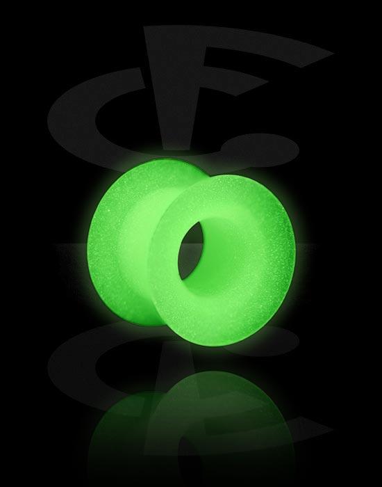 """Tunnelit & plugit, """"Glow in the Dark"""" Tunnel, Silikoni"""