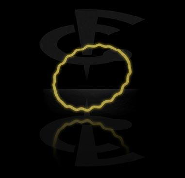 "Rannekorut, ""Glow in the Dark""-rannekoru, Silikoni"