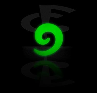 Glow in the Dark Spiral