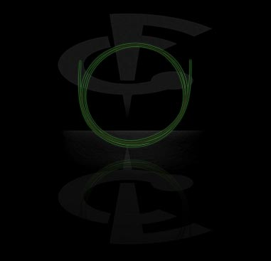 """Glow in the Dark""-tråd"
