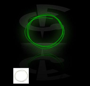 """""""Glow in the Dark""""-Schnur"""