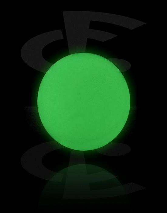 """Kuličky, kolíčky a další, """"Glow in the Dark"""" Ball, Bioflex"""