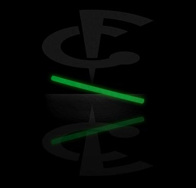 """""""Glow in the Dark"""" Barbell-Stab"""