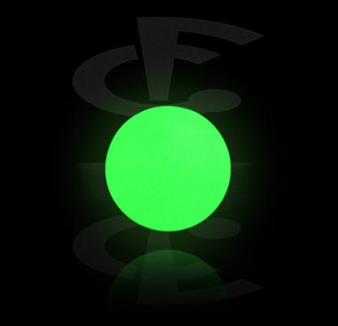 """Glow in the Dark""-Push Fit Kugel"
