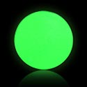 "Pallot ja koristeet, ""Glow in the Dark"" Push Fit -pallo, Bioflex"