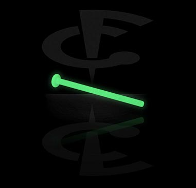 Glow in the Dark Labret Pin