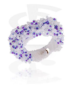 Armband met glazen beads