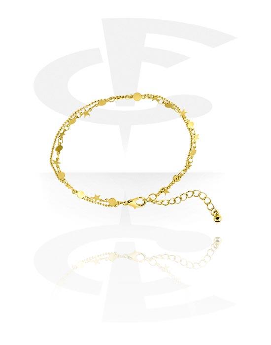 Nilkkakorut, Anklets, Kultapinnoitteinen messinki