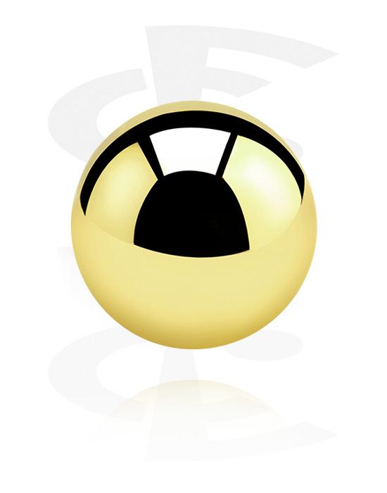 Palloja, nappeja ynnä muuta, Ball, Kultapinnoitteinen kirurginteräs 316L