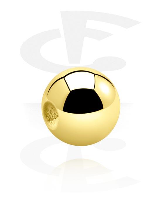 Kuličky, kolíčky a další, Ball for Ball Closure Rings, Pozlacená chirurgická ocel 316L