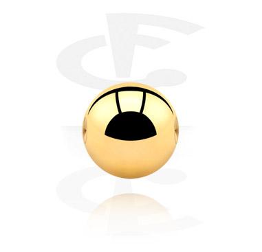 Palline e Accessori, Ball per Ball Closure Rings, Gold Plated