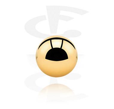 Pallot ja koristeet, Ball for Ball Closure Rings, Gold Plated