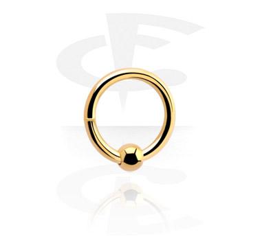 Сегментное кольцо с шарниром