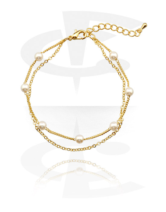 Armbanden, Fashion Armband, Verguld chirurgisch staal 316L