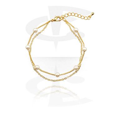 Bransolety, Fashion Bracelet, Gold-Plated