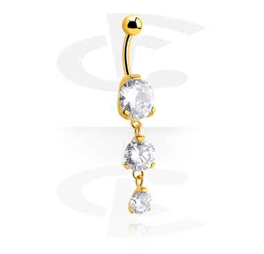 Jeweled Banana<br/>[Gold Plated]