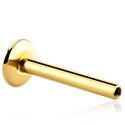 Kuglice i zamjenski nastavci, Internally Threaded Labret Pin, Gold Plated