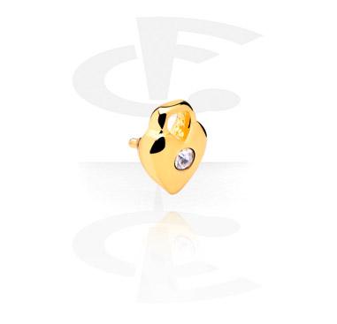 Jeweled Attachment voor staafjes met interne schroefdraad