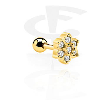 Helix Piercing<br/>[Gold Plated]