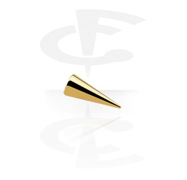 Vergoldeter Micro Long Cone