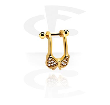Helix / Tragus, Helix Piercing, Gold Plated