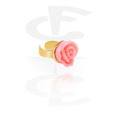 Imitacja biżuterii do piercingu, Ear Cuff, Gold-Plated
