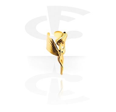 Falešné piercingové šperky, Ear Cuff, Gold-Plated