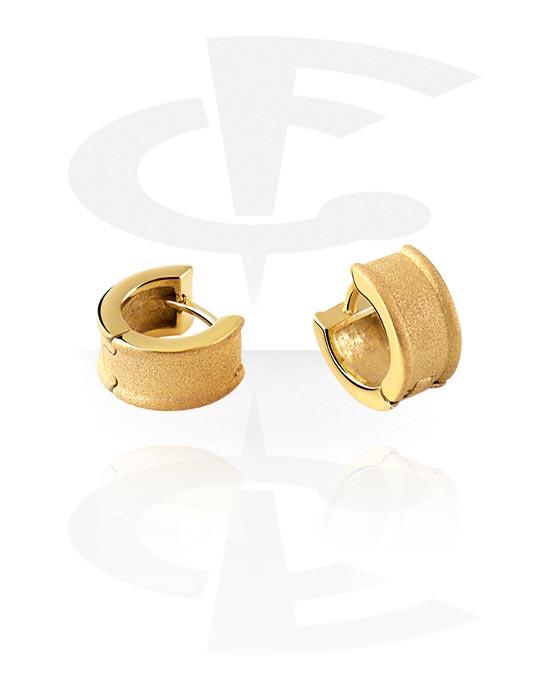 Korvakorut, Earrings, Kultapinnoitteinen kirurginteräs 316L