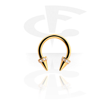 Jewelled Septum Clicker with Cones