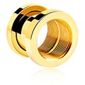 X-Changer Tunnels, Tunnel, Gold-Plated Surgical Steel