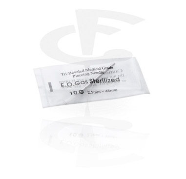 Tools & Accessories, Sterilized Piercing Needle, Surgical Steel 316L