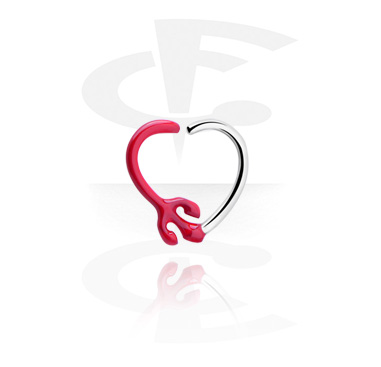 Sydämenmuotoinen continuous-rengas