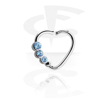 Hjärtformad Continuous Ring