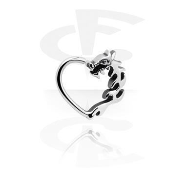 Herzförmiger Continous Ring