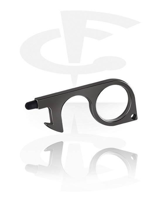 Piercingové nástroje a příslušenství, Non-contact Door Opener, Pokovená mosaz