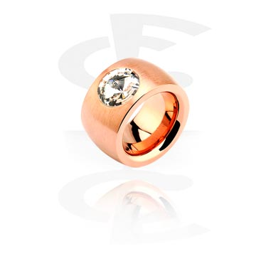 Prsteny, Ring, Rose Gold Plated Steel